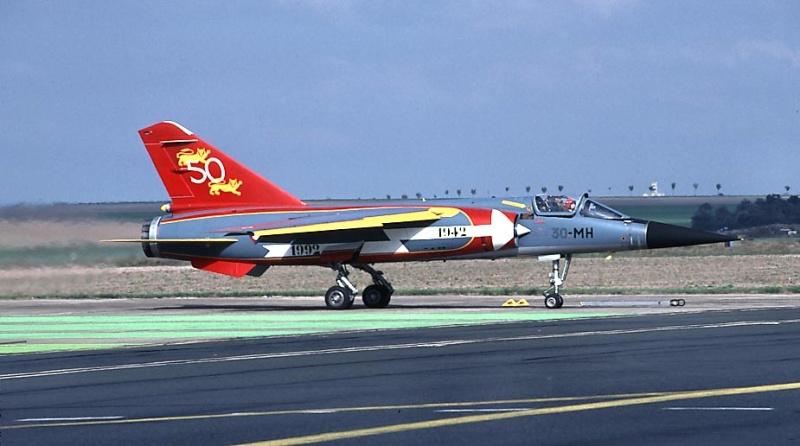 Mirage F-1 CT (Heller) Dissolution Normandie Nièmen 2009  Reims_10