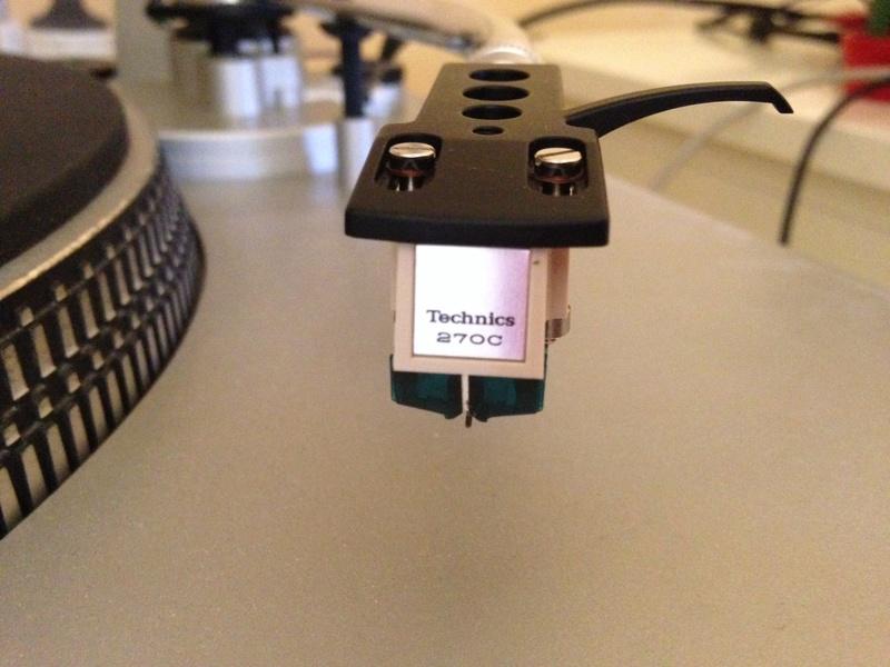 Cartuccia Technics 270C sostituzione puntina Img_0212