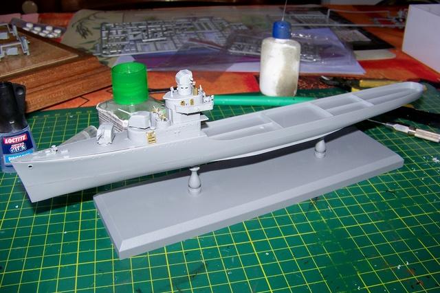USS Murphy DD603 (Dragon 1/350 USS Laffey Classe Benson) 100_0723