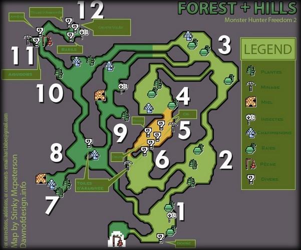liste des map Foret_10