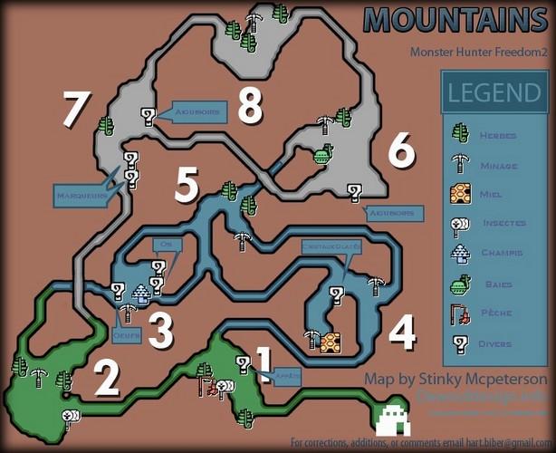 liste des map Mont_e10