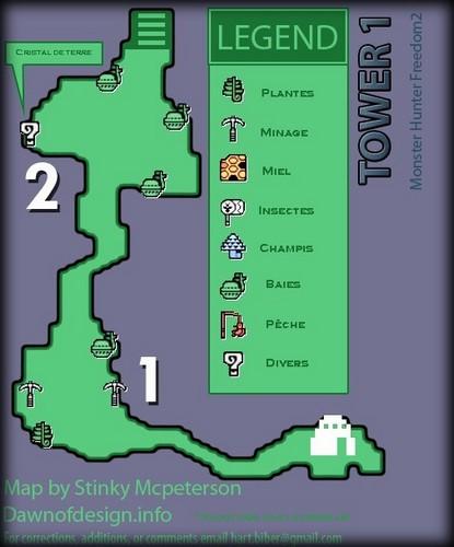 liste des map Tour110