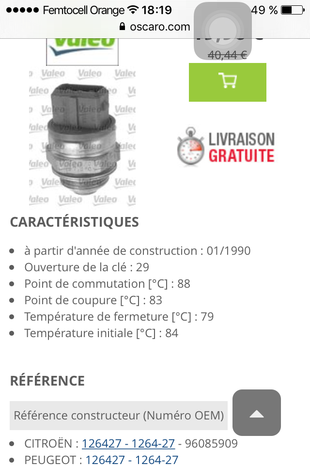 thermocontact motoventilateur  Image11