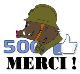 La Hure, Reconstitution Historique Civile et Militaire 1938/40 500j10