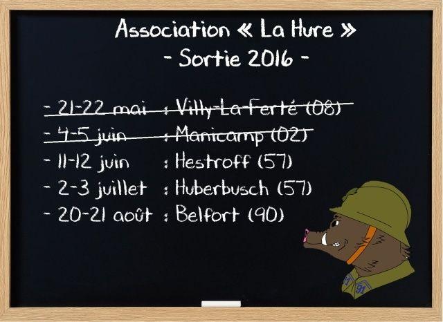 La Hure, Reconstitution Historique Civile et Militaire 1938/40 Sortie12