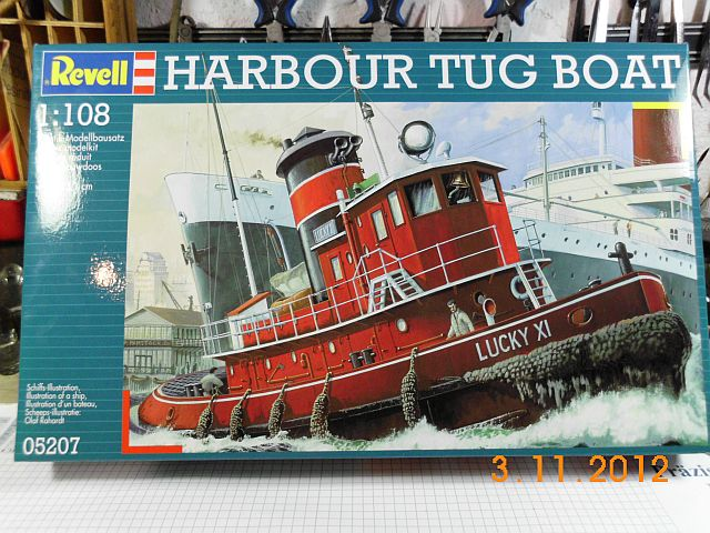 Revell 05207 - Hafenschlepper 1/108 - Fertig 010