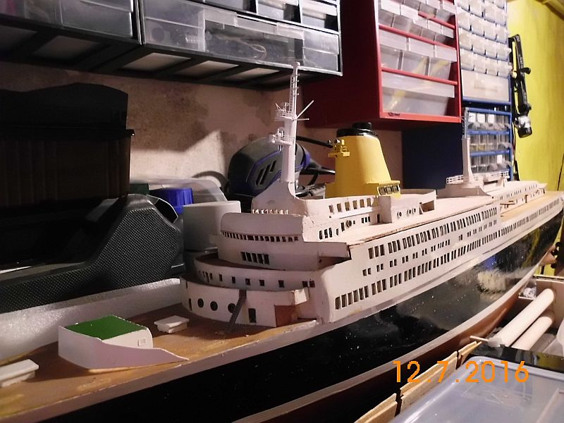 TS Bremen V - Restaurationsbericht zu einem alten Modellschiff in 1/200 - Seite 6 145