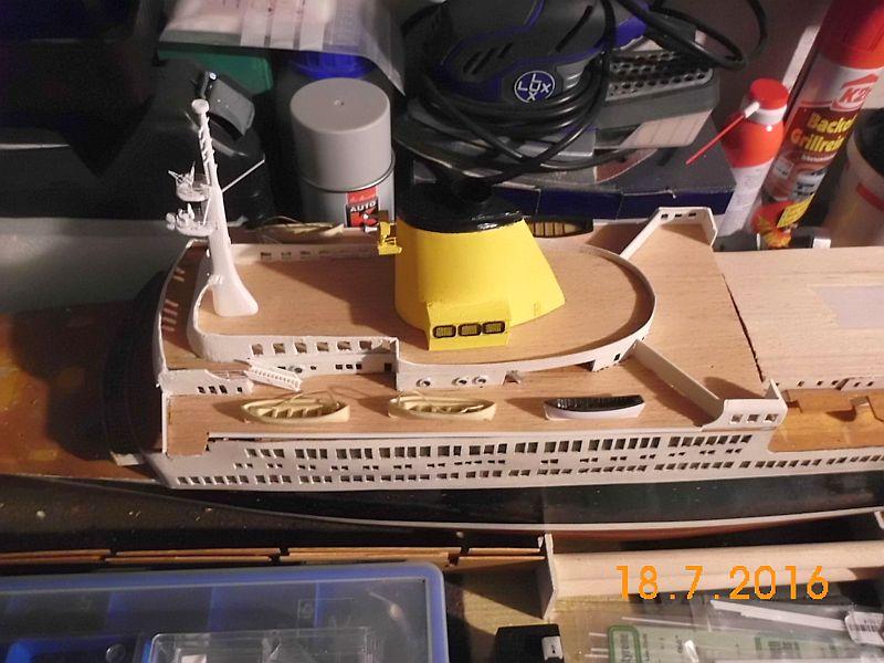 TS Bremen V - Restaurationsbericht zu einem alten Modellschiff in 1/200 - Seite 6 150