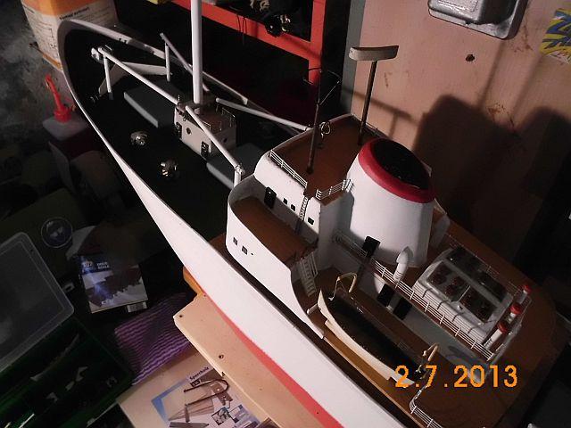 Robbe Cap Domingo 1/100 - Aufarbeit / Restaurierung - Seite 4 311