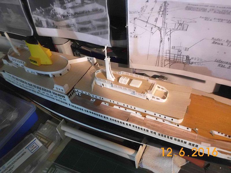TS Bremen V - Restaurationsbericht zu einem alten Modellschiff in 1/200 - Seite 4 425