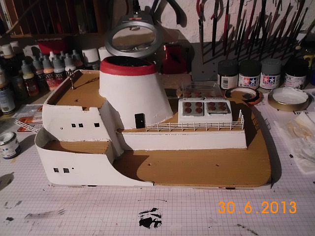 Robbe Cap Domingo 1/100 - Aufarbeit / Restaurierung - Seite 4 510