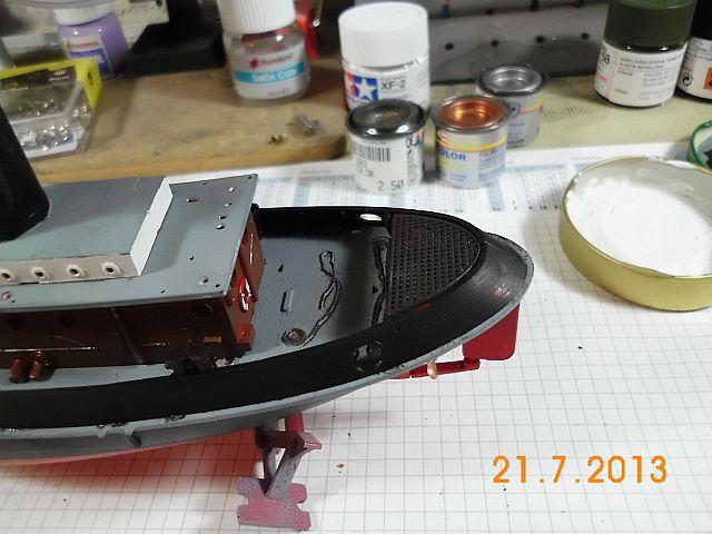 Revell 05207 - Hafenschlepper 1/108 - Fertig 6b10