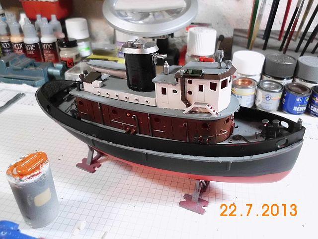 Revell 05207 - Hafenschlepper 1/108 - Fertig 7b10