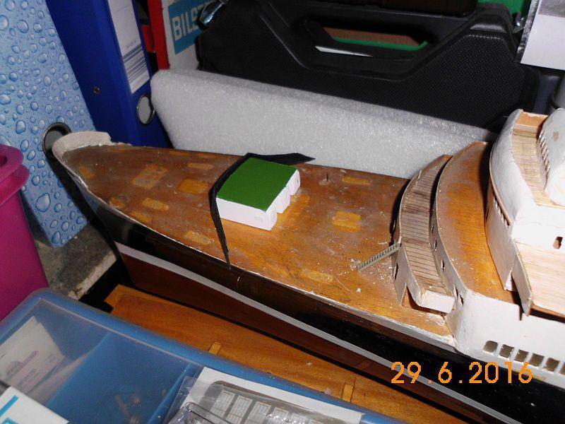 TS Bremen V - Restaurationsbericht zu einem alten Modellschiff in 1/200 - Seite 5 B110