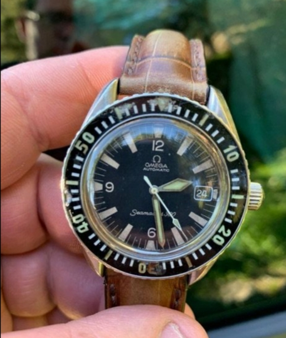 Omega Seamaster 300 ref: 165.024 1970 20200210