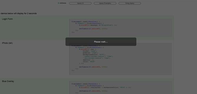 Bloquear página web para mostrar un popup o un cuadro de dialogo modal  Blocku10