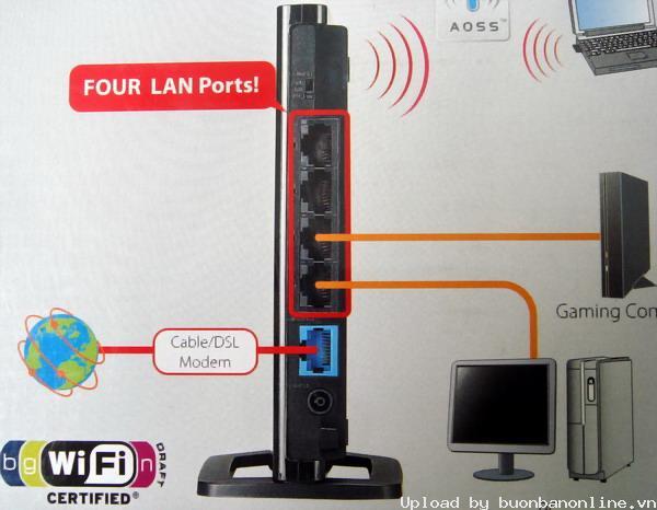 Hướng dẫn chung thiết lập cấu hình router BUFFALO up bản DD-WRT thu phát sóng Wifi I713_h10