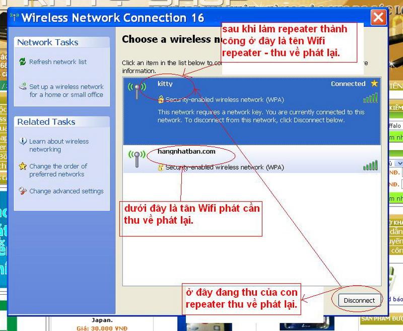 Hướng dẫn chung thiết lập cấu hình router BUFFALO up bản DD-WRT thu phát sóng Wifi Repeat23
