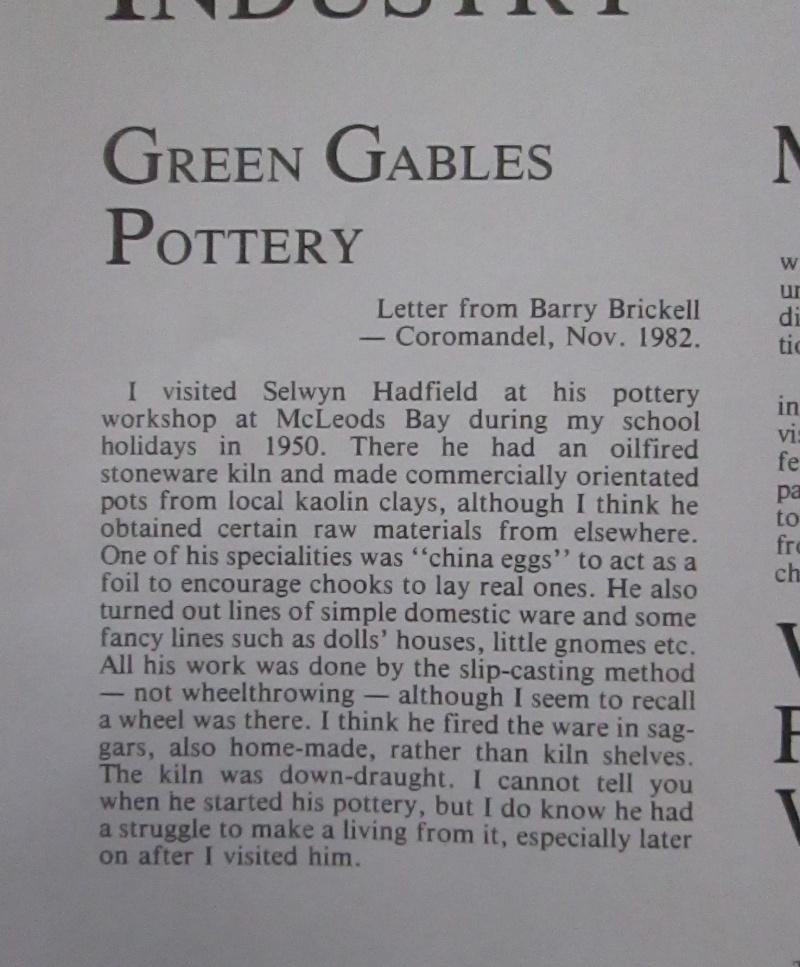 Green Gables Pottery Greeng10