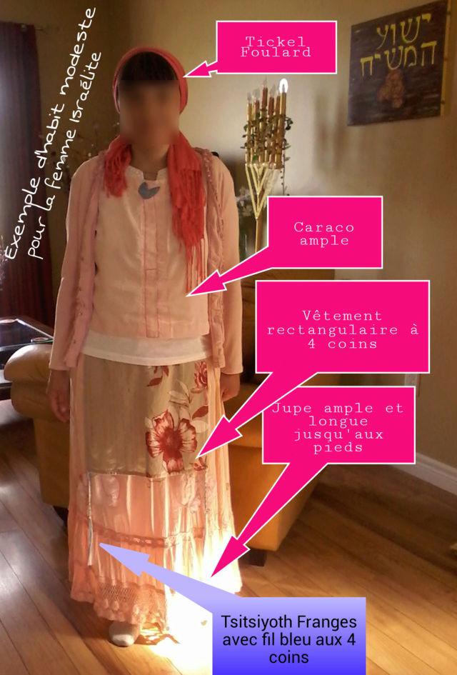 Exemples d'habits modestes  pour la femme Israélite Modest10