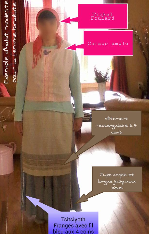 Exemples d'habits modestes  pour la femme Israélite Modest11