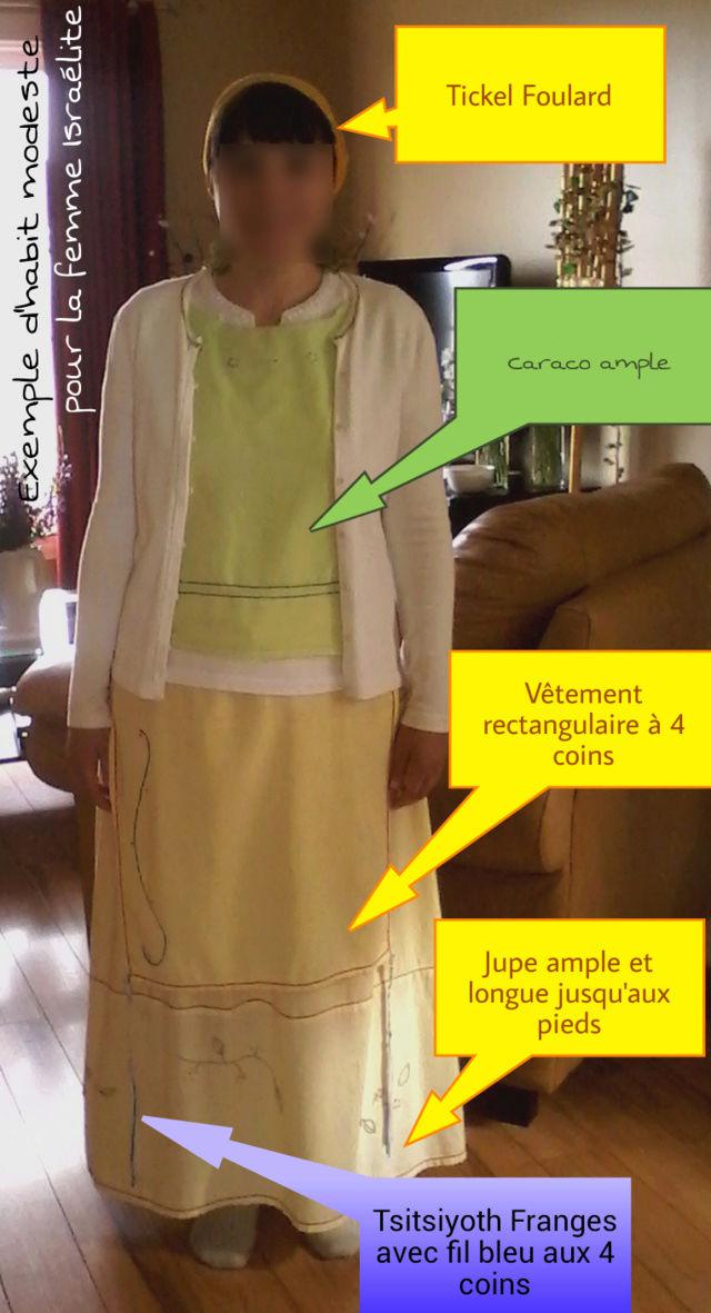 Exemples d'habits modestes  pour la femme Israélite Modest12
