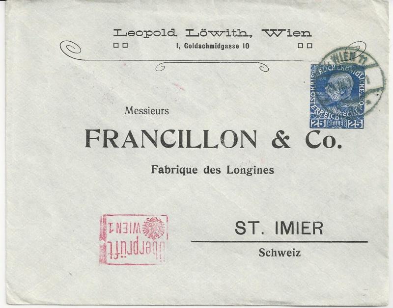 Private Briefumschläge Monarchie Bild12