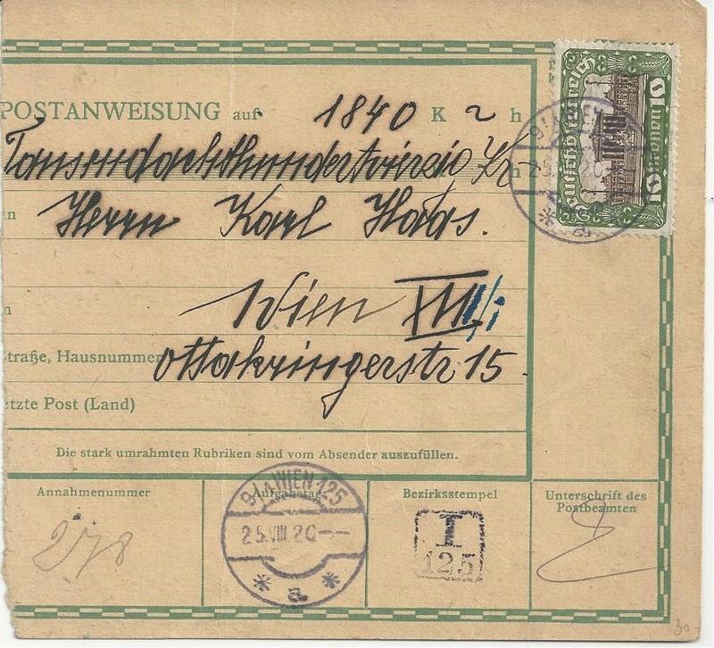 Inflation in Österreich - Belege - 1918 bis 1925 - Seite 7 Bild23