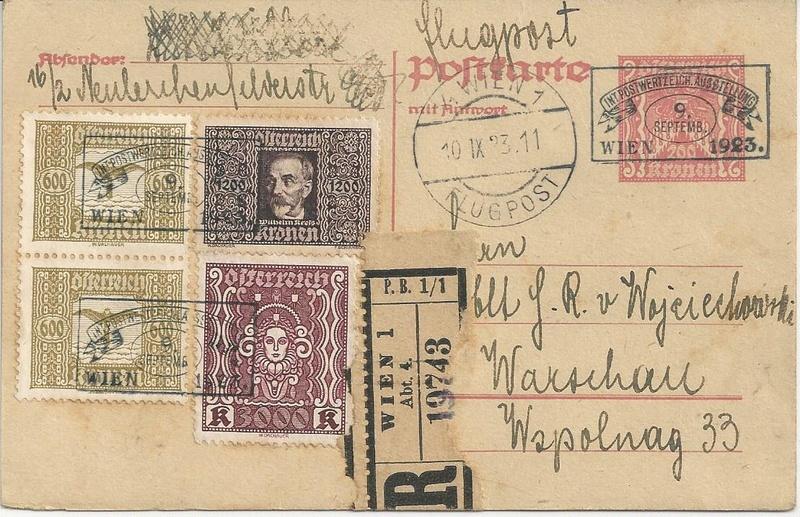 Inflation in Österreich - Belege - 1918 bis 1925 - Seite 7 Bild31