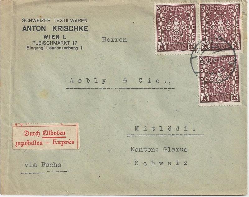 Inflation in Österreich - Belege - 1918 bis 1925 - Seite 7 Bild36