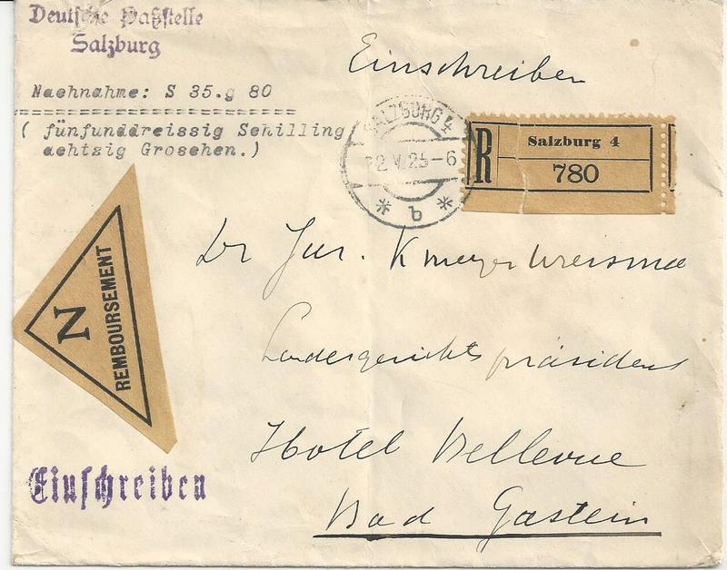 Inflation in Österreich - Belege - 1918 bis 1925 - Seite 7 Bild41
