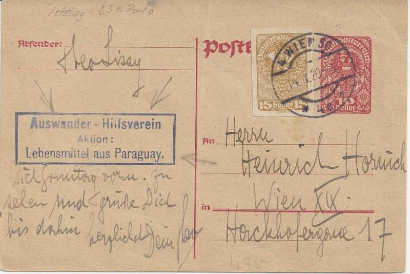 Inflation in Österreich - Belege - 1918 bis 1925 - Seite 7 Bild_211