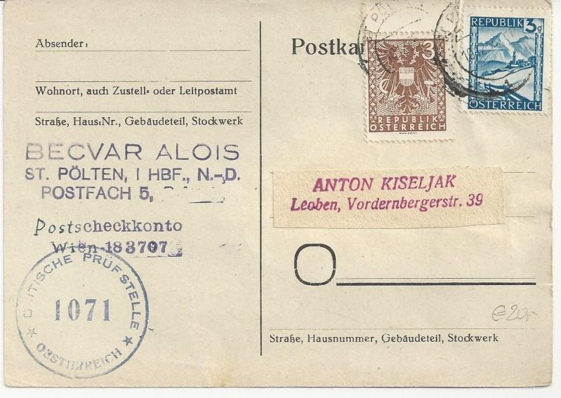 Wappenzeichnung  -  ANK 714-736 - Belege - Seite 3 Bild_219
