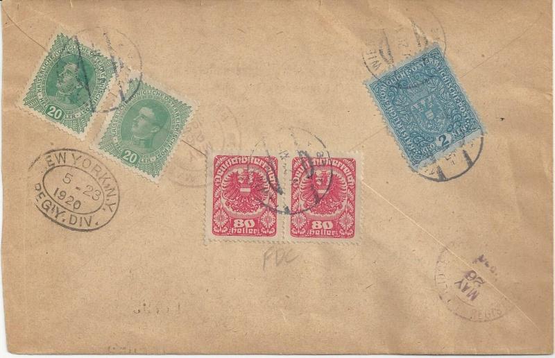 Inflation in Österreich - Belege - 1918 bis 1925 - Seite 7 Bild_221