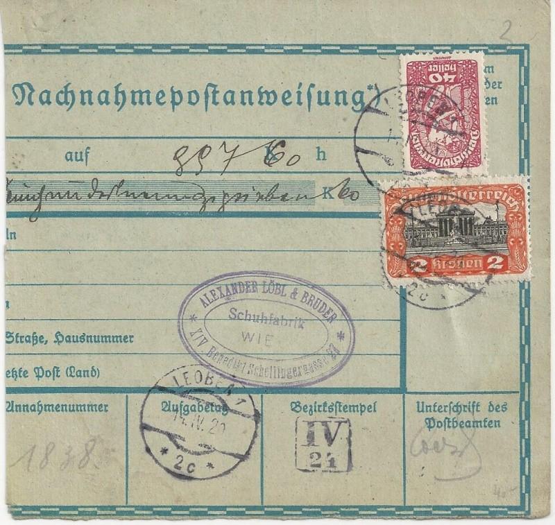 Inflation in Österreich - Belege - 1918 bis 1925 - Seite 7 Bild_224