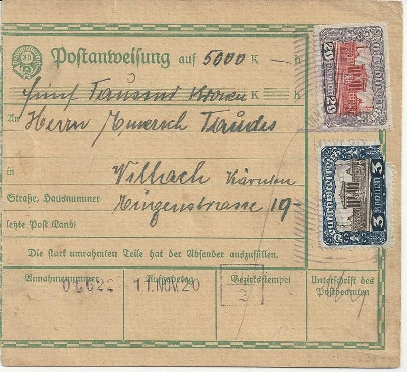 Inflation in Österreich - Belege - 1918 bis 1925 - Seite 7 Bild_225
