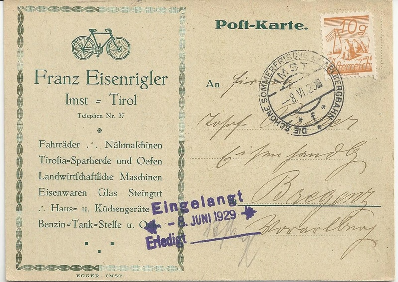 Werbeumschläge und -karten aus Österreich - Seite 5 Bild_228