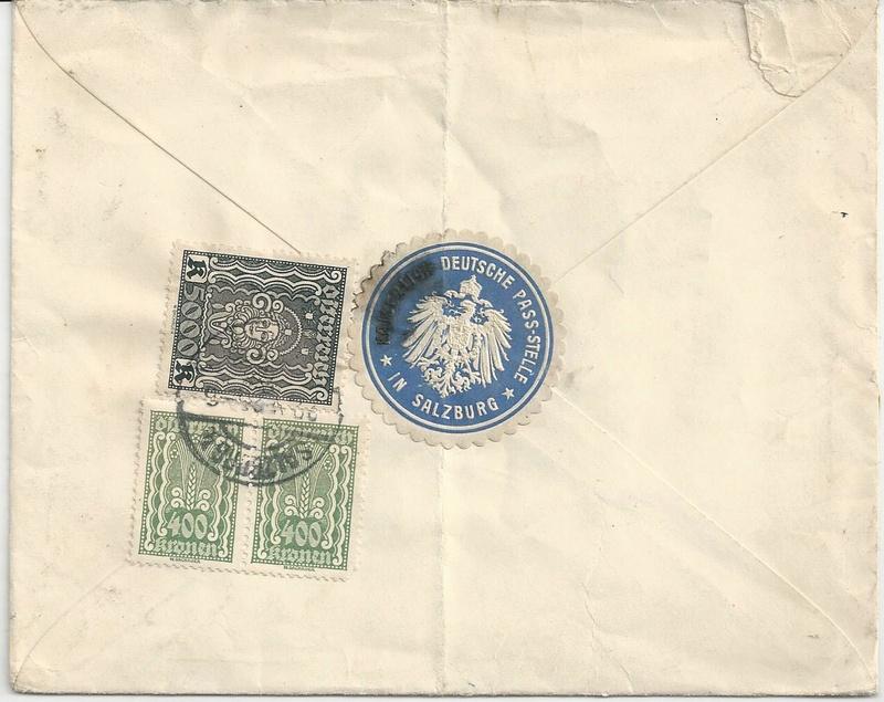 Inflation in Österreich - Belege - 1918 bis 1925 - Seite 7 Bild_235