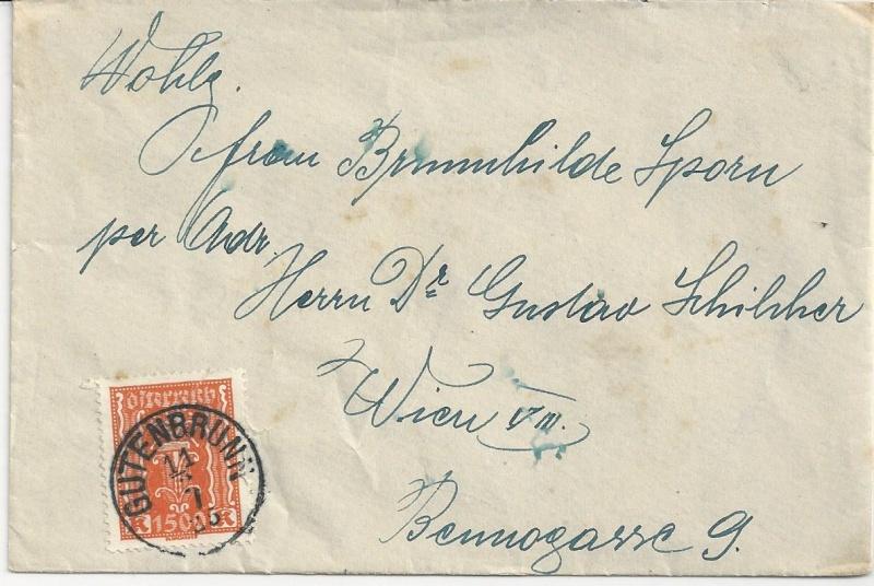 Inflation in Österreich - Belege - 1918 bis 1925 - Seite 7 Bild_319