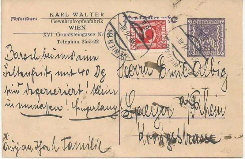Inflation in Österreich - Belege - 1918 bis 1925 - Seite 7 Bild_327