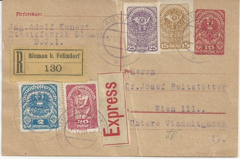 Inflation in Österreich - Belege - 1918 bis 1925 - Seite 7 Bild_413