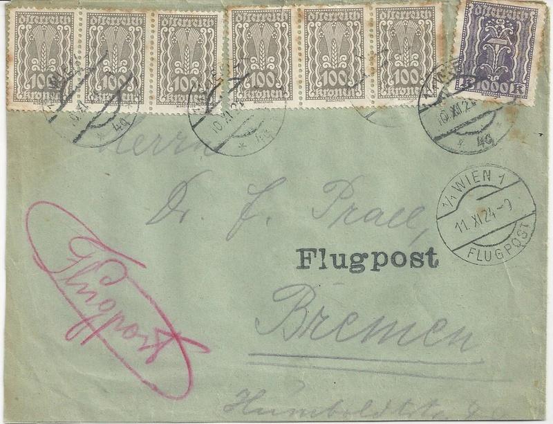 Inflation in Österreich - Belege - 1918 bis 1925 - Seite 7 Bild_416