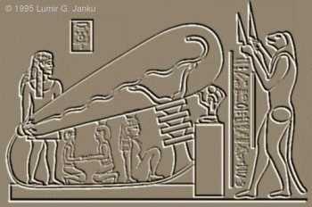 L'OVNI dans la pyramide Dender10
