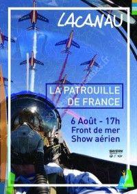 La Patrouille de France le 6 Aout 2016 à Lacanau A9690a10
