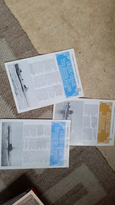 British submarines booklets published by Vickers. 20160612