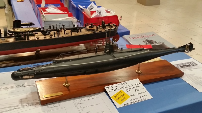 C class British submarine kits  from Chylds Hall Models 20160811