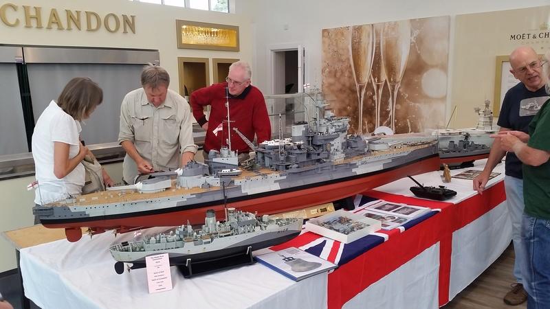 Haydock Park - Model Boat Convention 2016 20160816