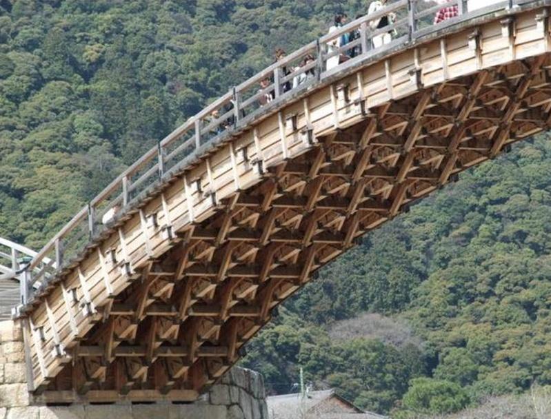 Les ponts en bois du monde. 2016-011