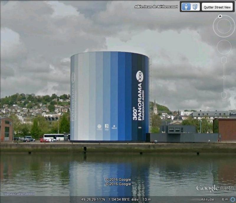 [Enfin visible sur Google Earth] - Future Rotonde Rouen B126