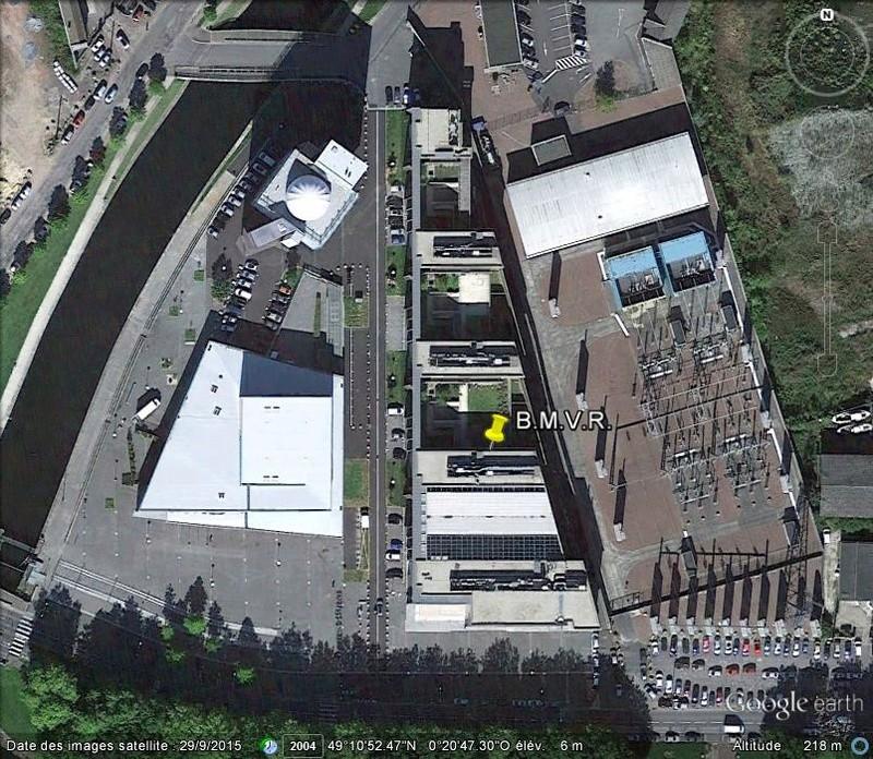 [Désormais visible sur Google Earth] - Grande bibliothèque multimédia de Caen Calvados B46